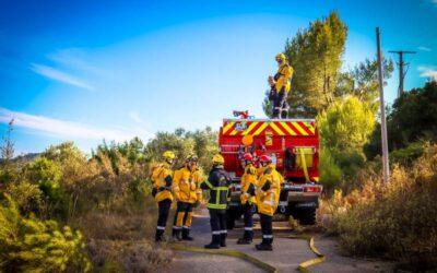 Alerte au feu sur Grangeneuve